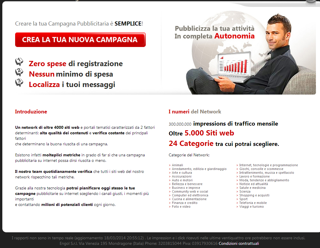 publicità web marketing